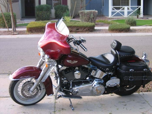 Softail Deluxe Fairing 94 2019 No Stereo