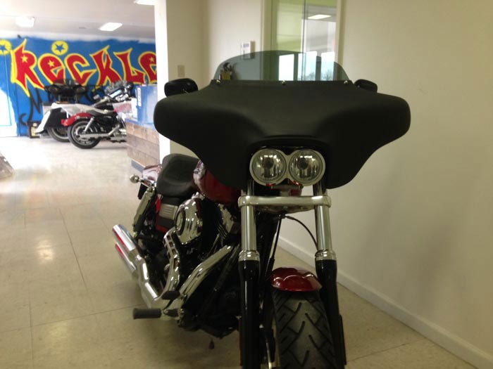 Reckless Motorcycles Harley Davidson Dyna Fatbob