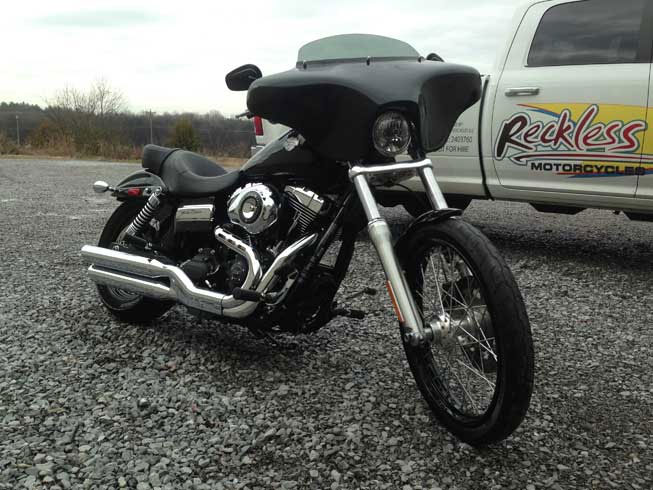 Reckless Motorcycles - Harley Davidson Dyna Wide Glide