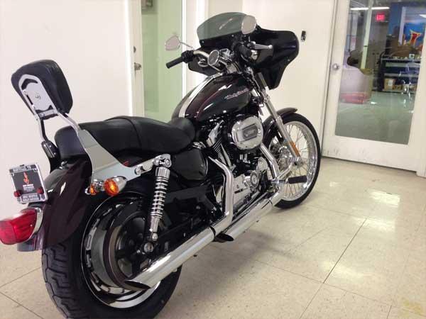 reckless motorcycles harley davidson sportster 1200c