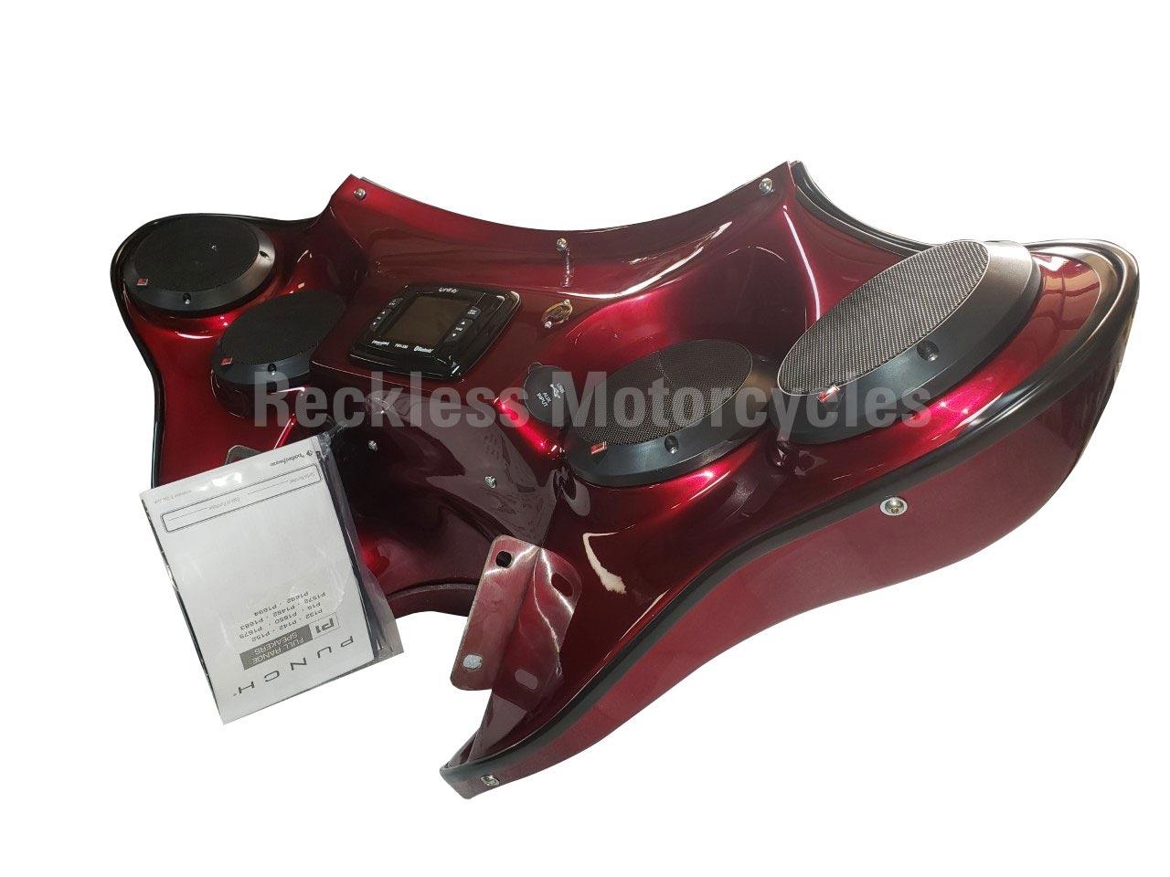 Reckless Motorcycles Harley Davidson Heritage 2014 Saddlebag Speaker Wiring Diagram Xl Batwing Fairing