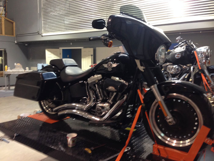 Saddlebags For Fatboy