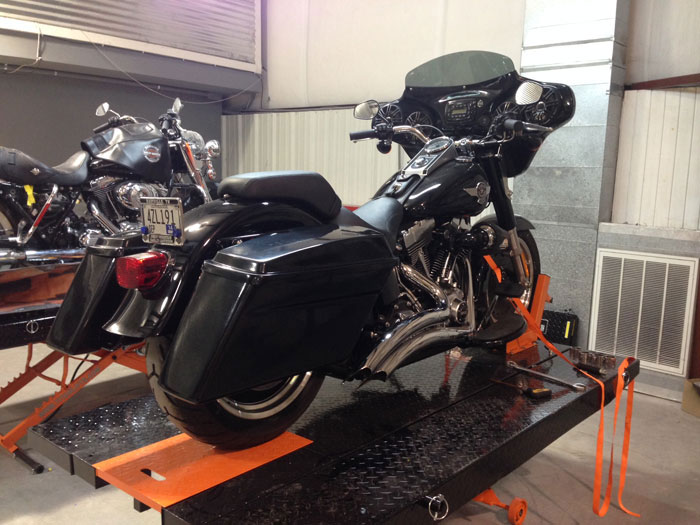 Reckless Motorcycles Herley Davison Saddlebags For Fatboy